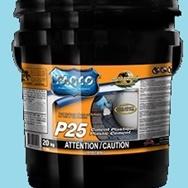 P-25 Ciment Plastique Pour Surface Sèches et Humides
